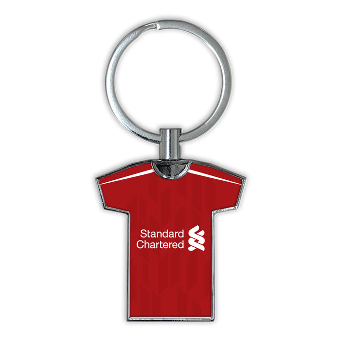 Liverpool 18-19 Football Shirt Keyring
