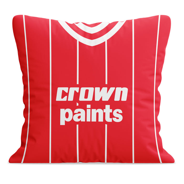Liverpool 1984 Football Cushion