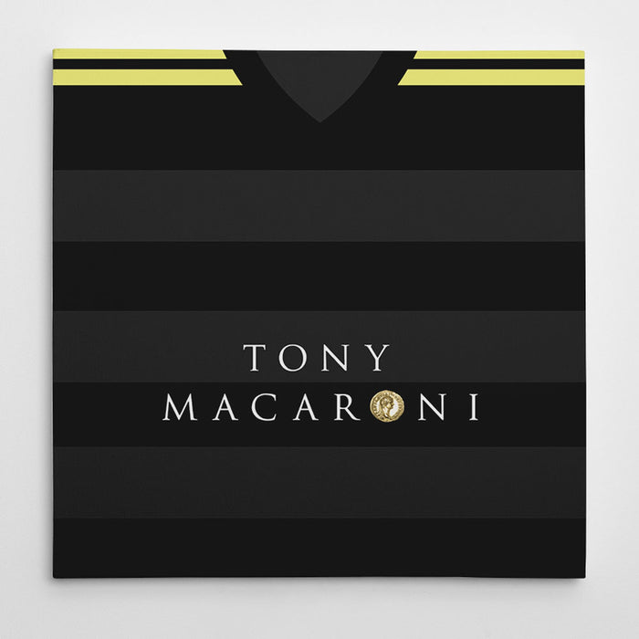 Livingston 17/18 Away Football Canvas Print