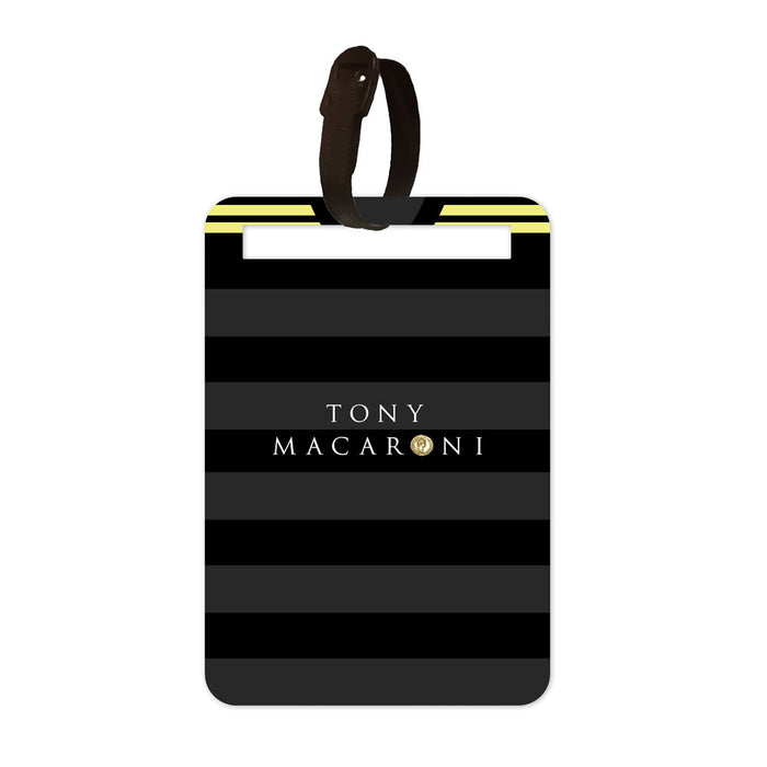 Livingston 2017/18 Away Luggage Tag