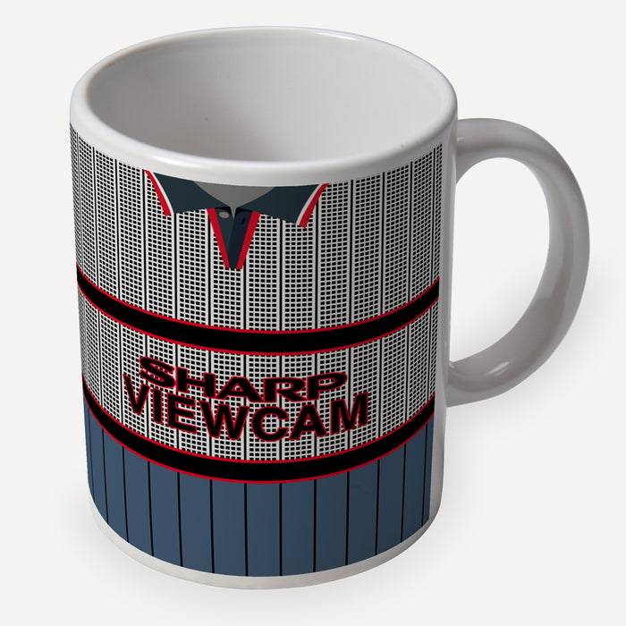 Man United 1995 Away Retro Ceramic Mug