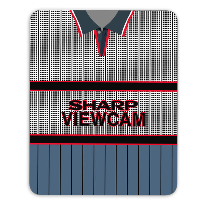 Man United 1995 Away Mouse Mat - Soccer Clasico