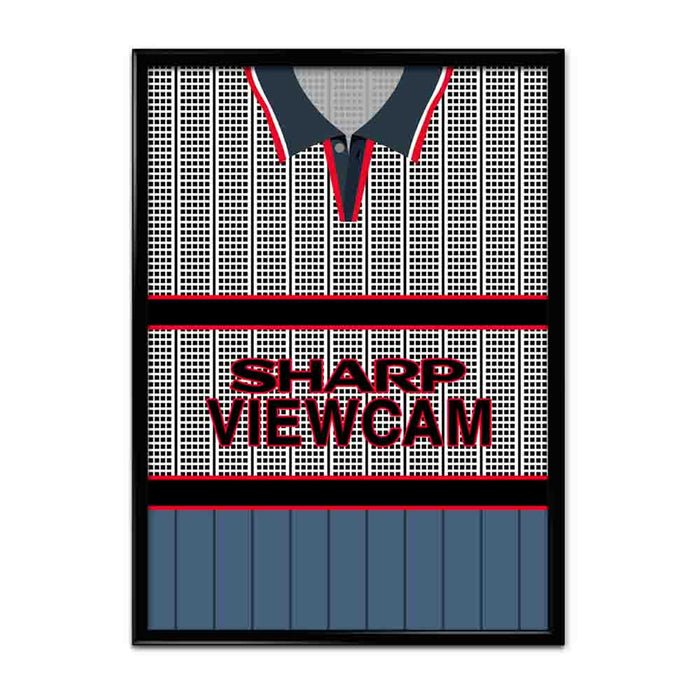Manchester United 1995-96 Away Football Shirt Art Print