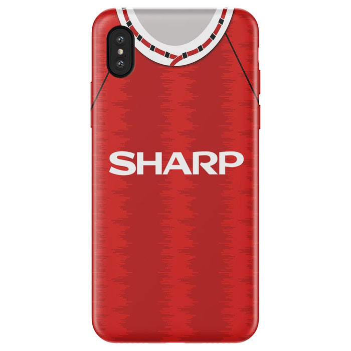 Man United 1995 iPhone & Samsung Galaxy Phone Case - Soccer Clasico