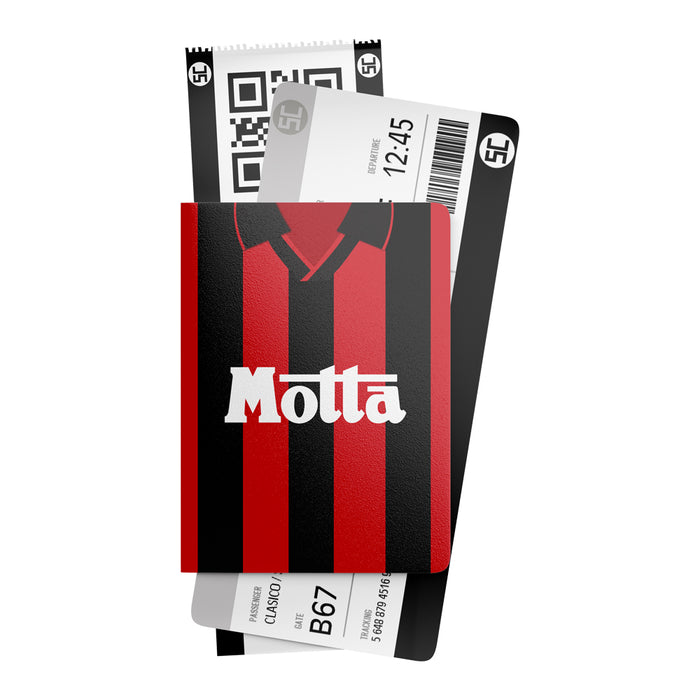 AC Milan 1993 Retro Passport Holder