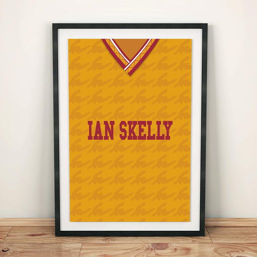 Motherwell 1991 Football Shirt Art Print