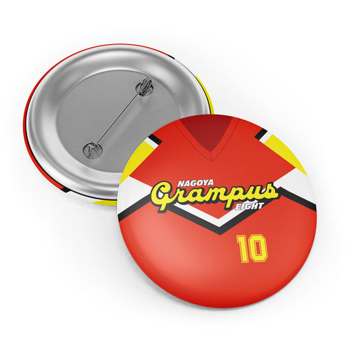 Nayoga Grampus Eight Button Badge