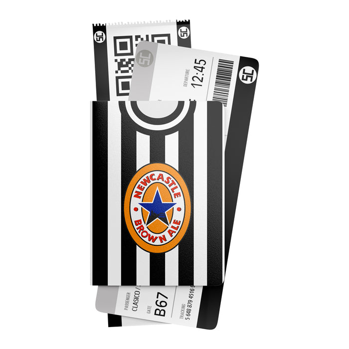 Newcastle 1997 Retro Passport Holder
