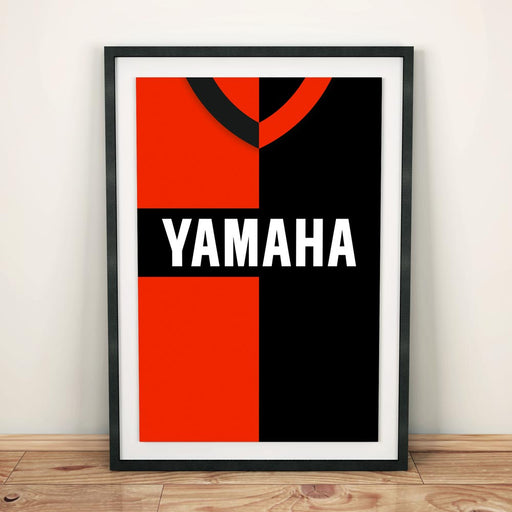 Newells Old Boys 1993 Football Shirt Art Print