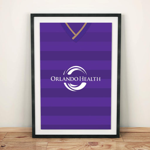 Orlando City 2015 Football Shirt Art Print