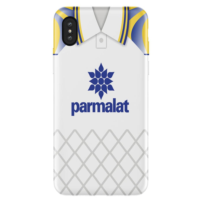 Parma 1996 Away iPhone & Samsung Galaxy Phone Case - Soccer Clasico