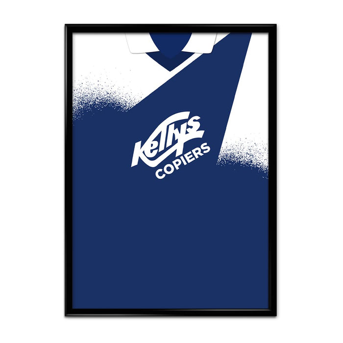 Raith Rovers 93/94 Football Shirt Art Print