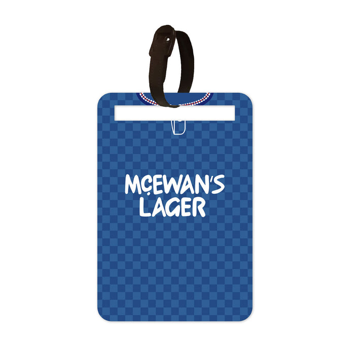 Rangers 1987-90 Luggage Tag