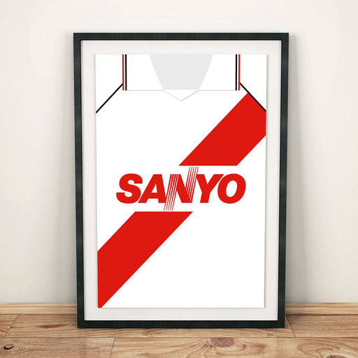 River Plate 1994 Football Shirt Art Print