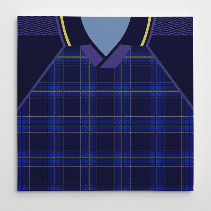 Scotland 1994 Football Canvas Print