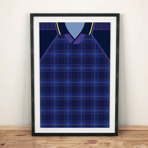 Scotland 1994 Football Shirt Art Print