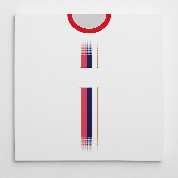 Serbia World Cup 2018 Away Football Canvas Print