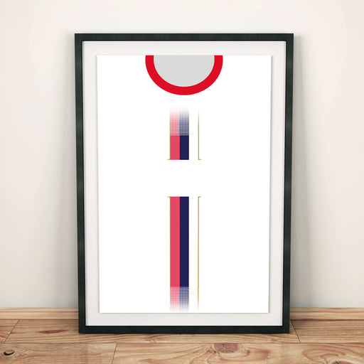 Serbia World Cup 2018 Away Football Shirt Art Print