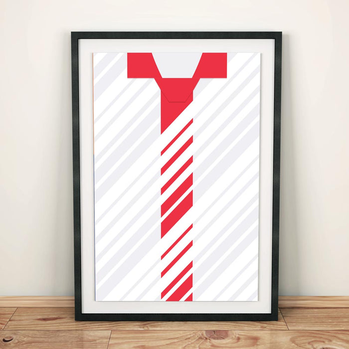 Sevilla 2013 Football Shirt Art Print