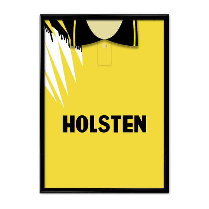 Tottenham 1991 Away Football Shirt Art Print