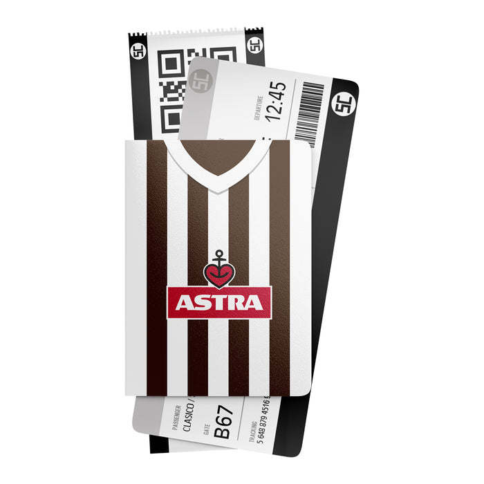St Pauli Retro Passport Holder