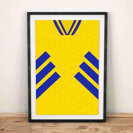 Sweden 1994 Football Shirt Art Print