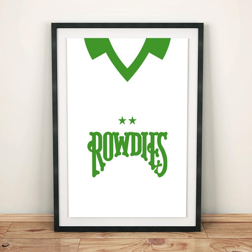 Tampa Bay Rowdies Retro Football Shirt Art Print