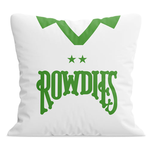 Tampa Bay Rowdies Retro Football Cushion