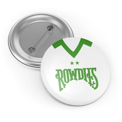 Tampa Bay Rowdies Retro Button Badge