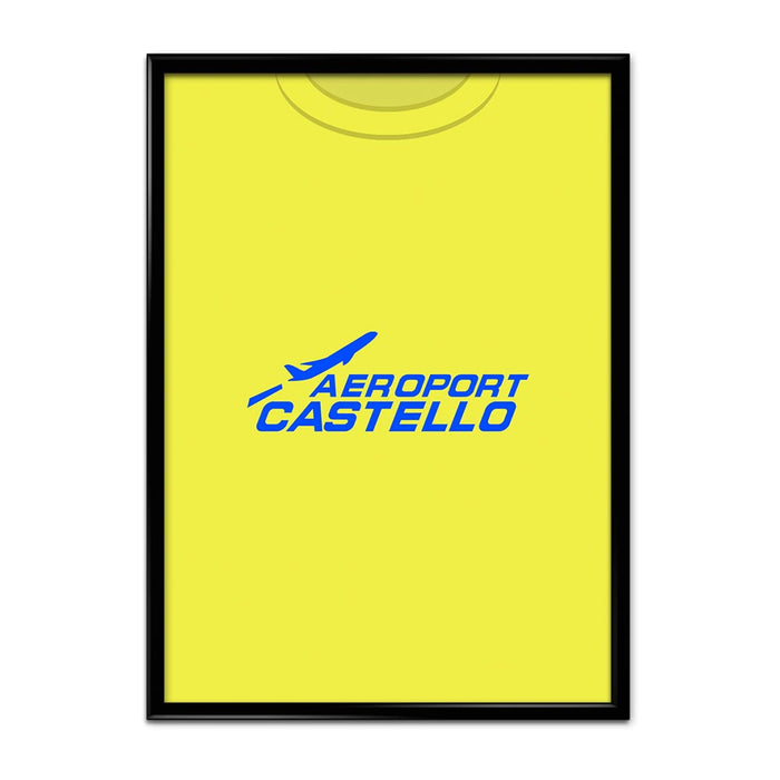 Villarreal 2005 Football Shirt Art Print