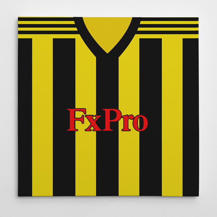 Watford 2018-19 Football Canvas Print