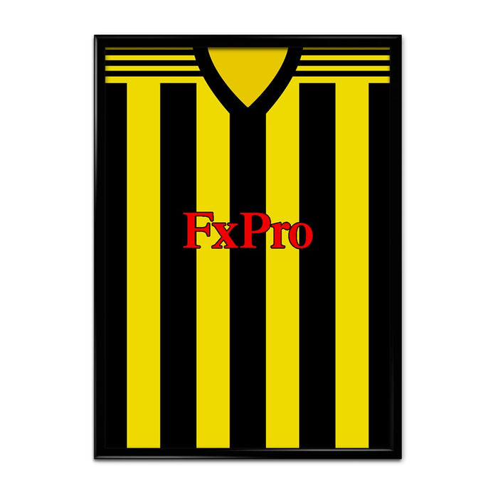 Watford 2018-19 Football Shirt Art Print