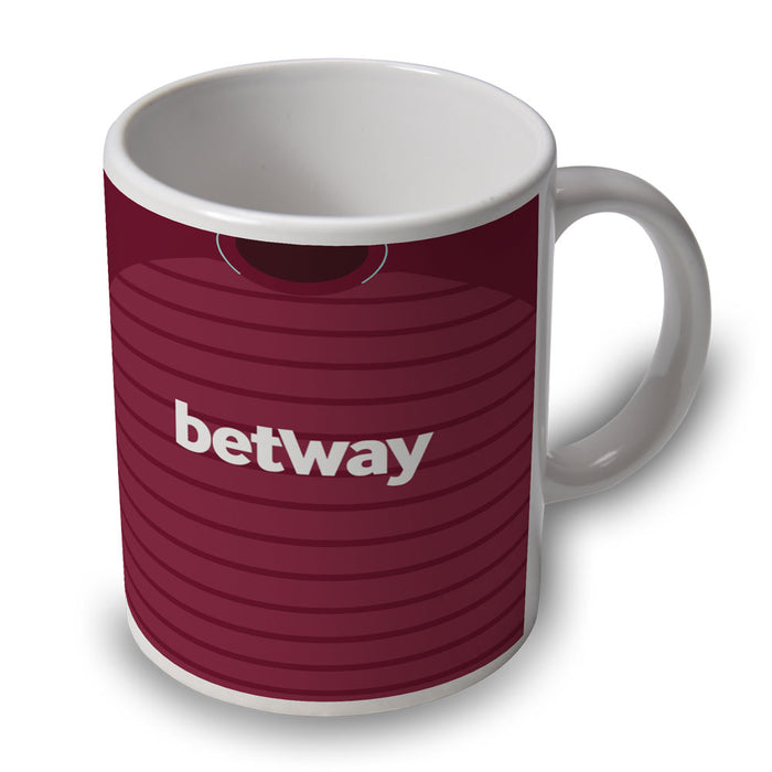 West Ham 18/19 Football Retro Ceramic Mug