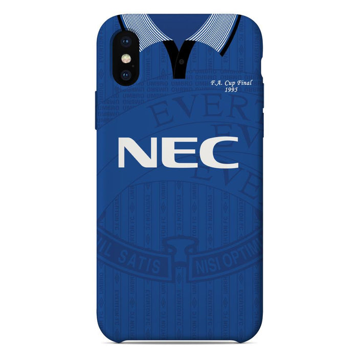 Everton 1995 FA Cup Final iPhone & Samsung Galaxy Phone Case