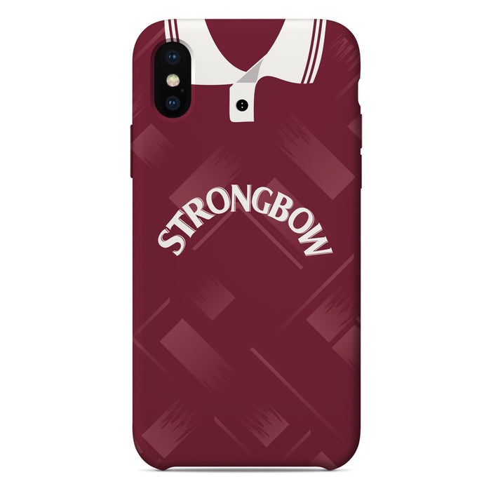 Hearts 1993-95 iPhone & Samsung Galaxy Phone Case