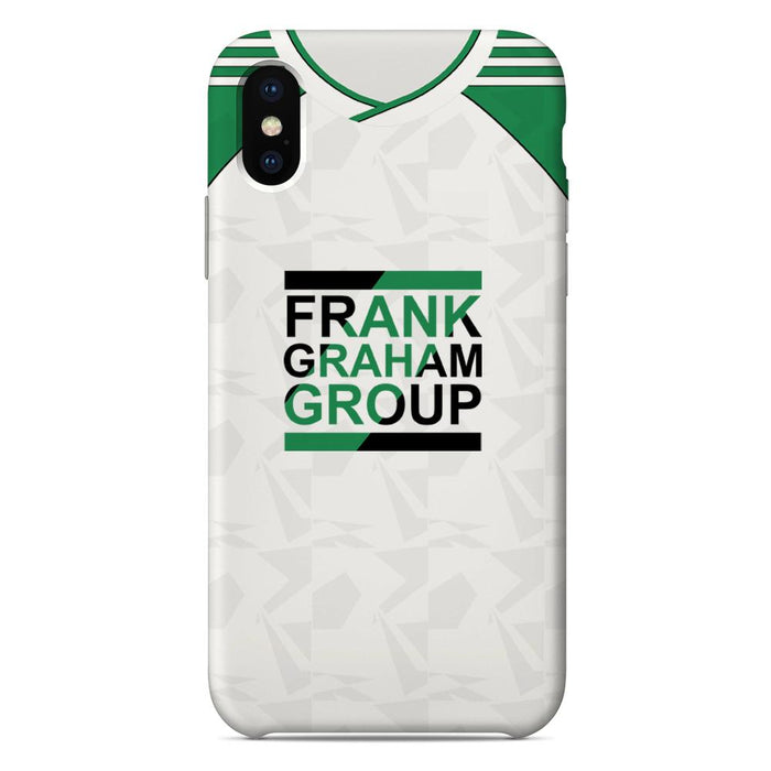 Hibs 1989-91 Away iPhone & Samsung Galaxy Phone Case
