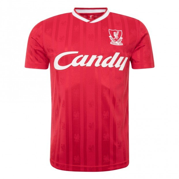 Liverpool FC 1988-89 Candy Home Shirt