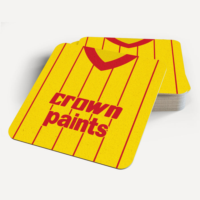 Liverpool 1982 Away Retro Coaster - Soccer Clasico