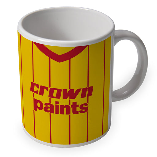 Liverpool 1982 Away Retro Ceramic Mug