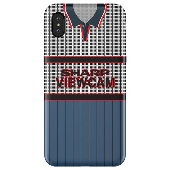 Man United 1995 Away iPhone & Samsung Galaxy Phone Case - Soccer Clasico