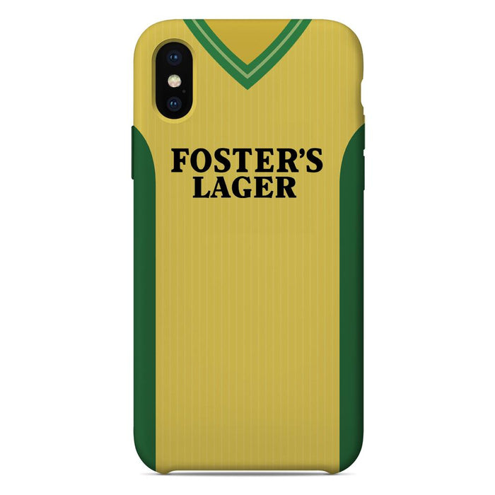 Norwich City 1987-89 iPhone & Samsung Galaxy Phone Case