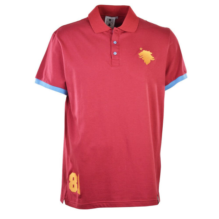 Aston Villa No 81 Maroon Polo Shirt