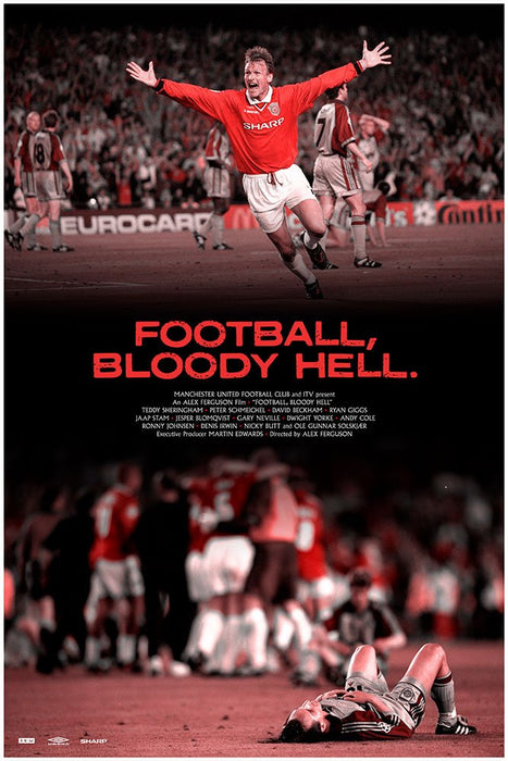 Pennarello: Football, Bloody Hell. 1999 - White