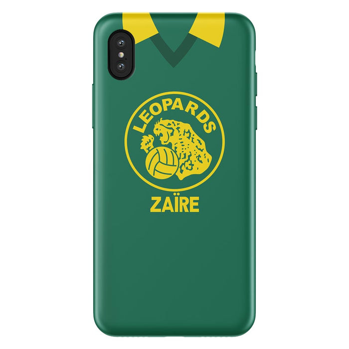 Zaire 1974 iPhone & Samsung Galaxy Phone Case - Soccer Clasico