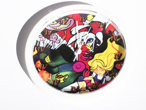 Tea Party 420 Wall Clock