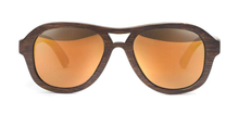 Load image into Gallery viewer, Swell Avalon Brown x Fire Polarized Sunglasses