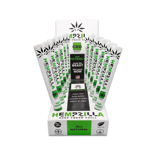 Hempzilla CBD Shot 20mg 18ml
