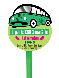 Organabus CBD SugarStix 100mg Watermelon