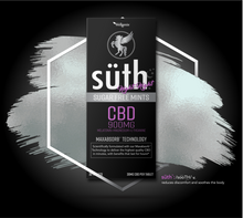 Load image into Gallery viewer, Suth CBD Night-Night Sugar Free Mints 30mg ea