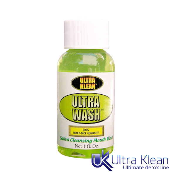 UltraKlean Ultra Wash Saliva Cleansing Mouthwash 1oz